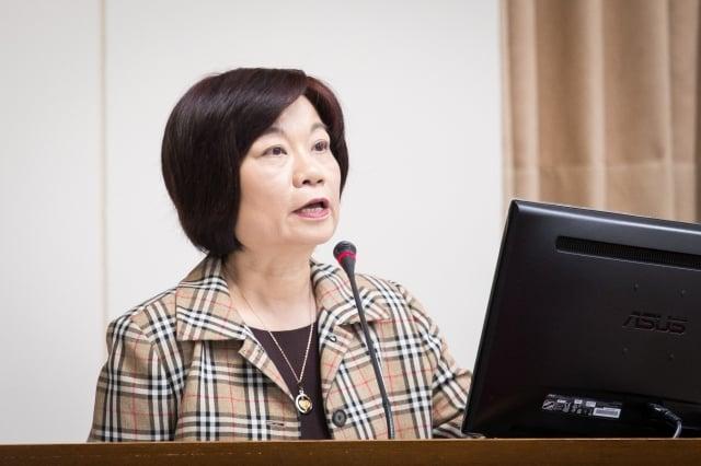 國發會主委陳美伶表示,未來的資料經濟時代,資料是很重要的戰略資產。資料照。(記者陳柏州/攝影)