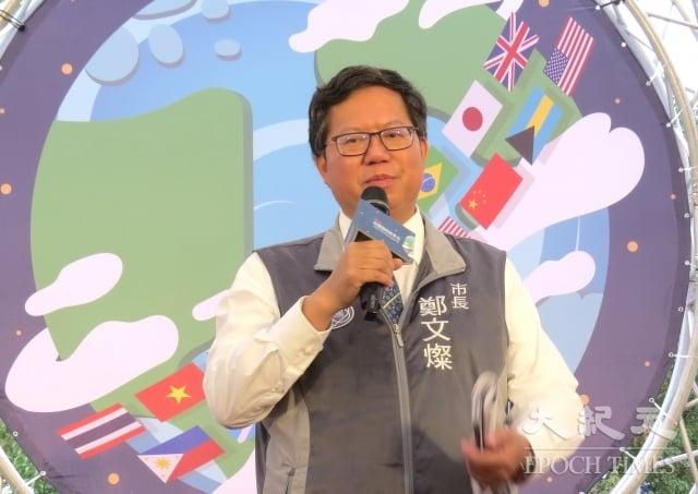桃園市長鄭文燦認為開放觀眾進場與否快決定,地方政府將會督導棒球場執行高標準的防疫作為。(記者徐乃義/攝影)