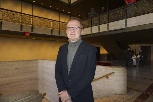 國際知名設計師Tom Zetek。(記者林南宇/攝影)
