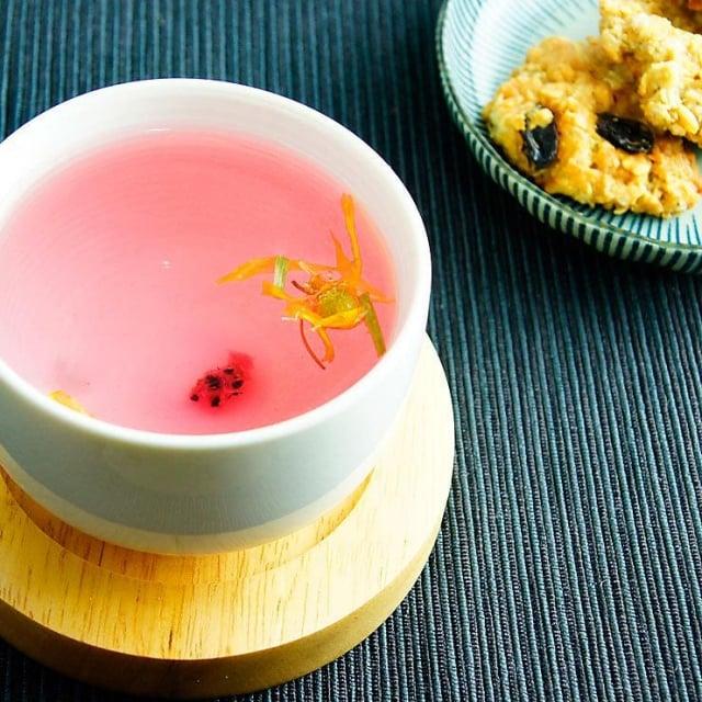 花果茶美容養顏之外更能協助舒緩身心。(業者提供)