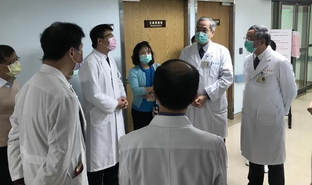 臺北榮總到桃園分院,要求院方應檢視所有員工的旅遊史,落實健康管理,確保每一位同仁的防疫安全。