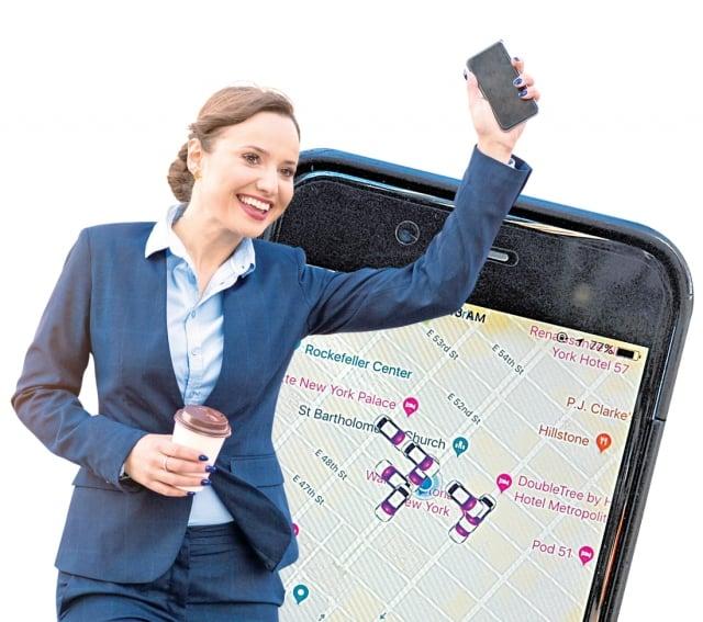 Uber和Lyft表示,他們正在採取措施提高共享車乘坐的安全性。(123RF)