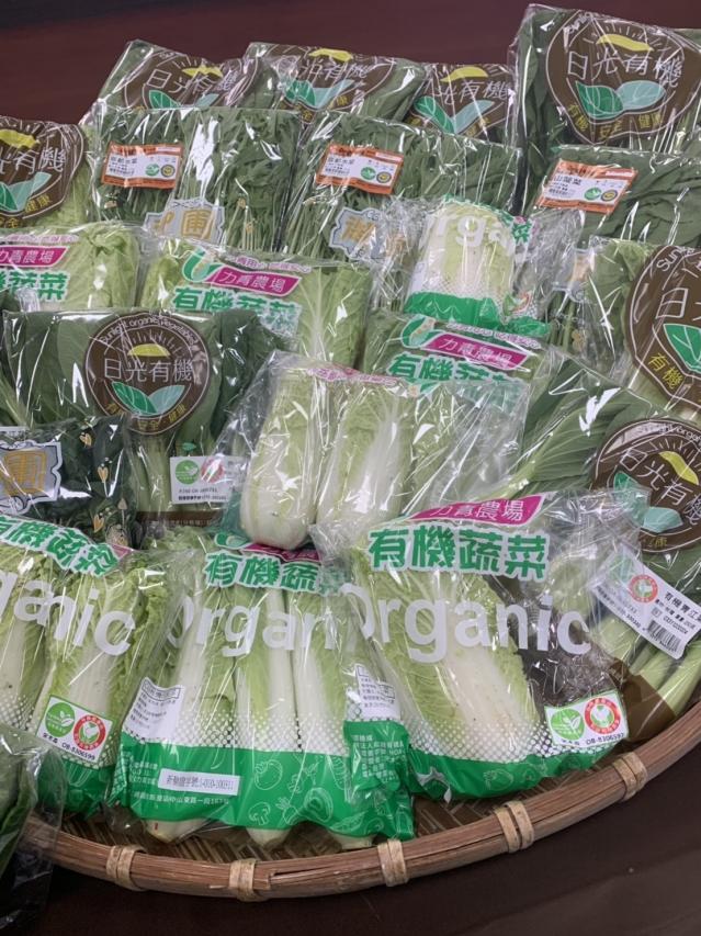 桃園在地優質蔬菜箱鼓勵上網選購。