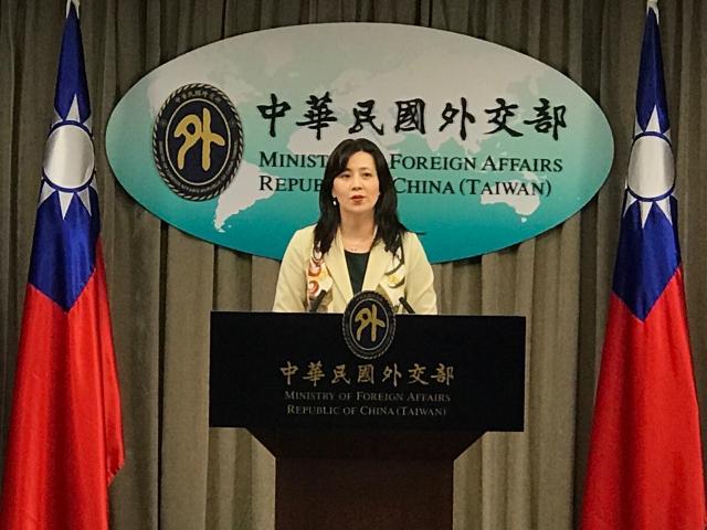 對於美國務院將「盡全力協助」台灣在WHA扮演「適當角色」。外交部發言人歐江安表達感謝。(記者李怡欣/攝影)