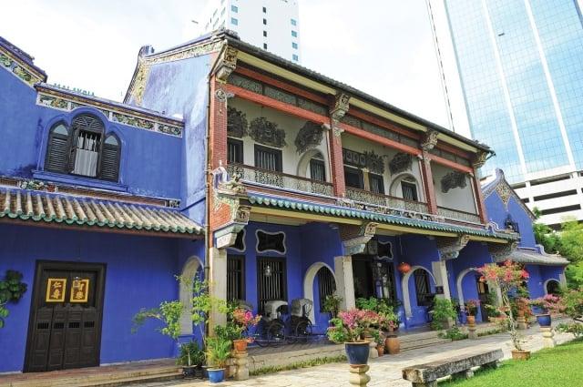 位於檳城的「張弼士故居」,是東南亞現存最大的清朝中國園林式住宅。(馬來西亞觀光局提供)
