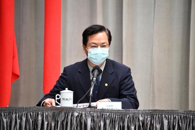 龔明鑫8日表示,政府主動調降租金希望起帶頭示範,讓受影響業者可依此基礎,來和房東或土地所有者進行房租協商。(行政院提供)