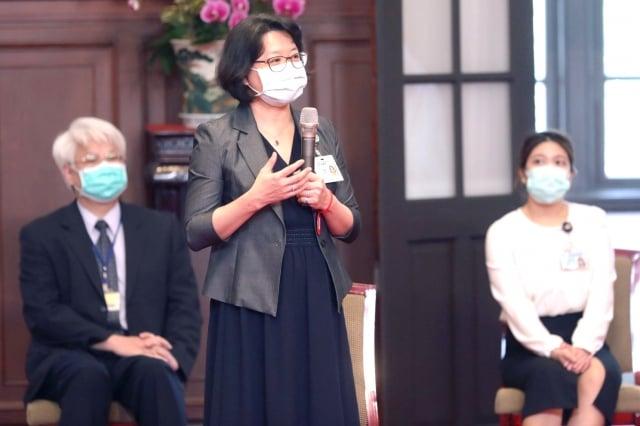 衛生福利部桃園療養院防疫不落人後。(桃園療養院提供)