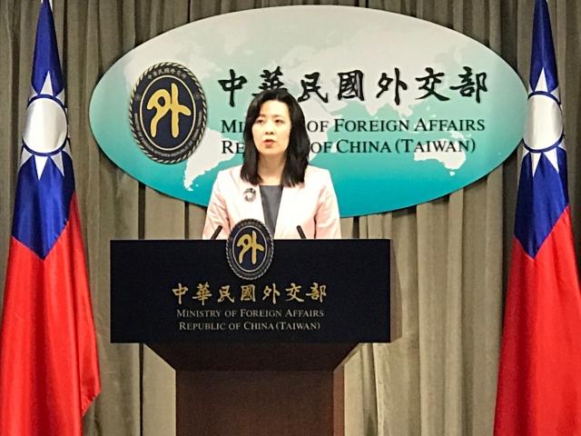 台外交部發言人歐江安16日表示,WHO以錯誤決議文解釋,重申台灣從來不隸屬中國。(記者李怡欣/攝影)