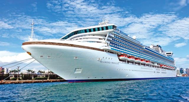 鑽石公主號爆高感染率,在船上隔離時被感染,有4個原因。(Shutterstock)