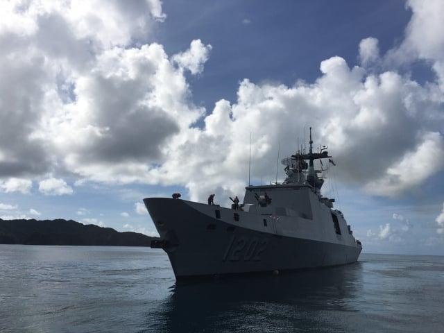 海軍敦睦艦隊3月中訪問帛琉,當地駐館人員與帛方接觸者22日篩檢確認全數未染疫。(翻攝外交部官網)