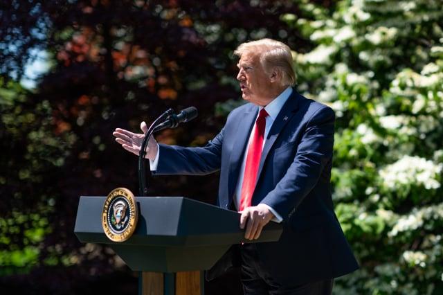 美國總統川普。(白宮Flicker)