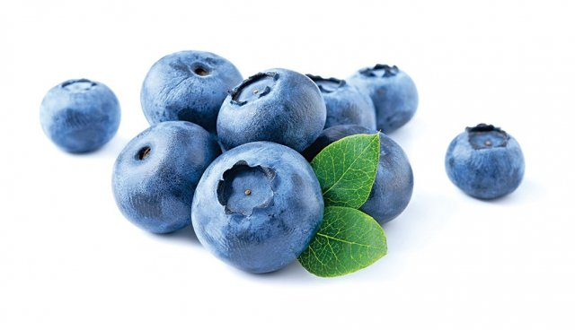 富含花青素的藍莓有助於預防高血壓及其引起的各種疾病。(Fotolia)