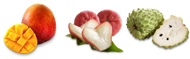 超級甜Super Sweet 店內可買到各式各樣在地的水果。(超級甜提供)