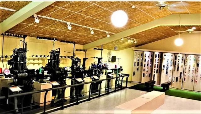 襪子王SOXLINK機能觀光襪廠,典藏著蕭明村使命人生的故事。(攝影/吳雁門)