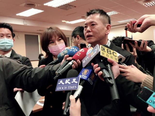 國民黨團總召林為洲。(記者李怡欣/資料照/攝影)
