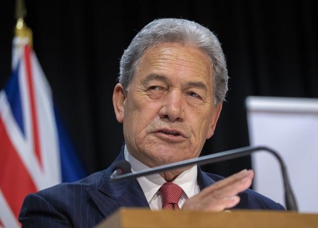 紐西蘭外交部長彼得斯(Winston Peters)(如圖)堅決支持臺灣加入世界衛生組織(WHO)。(Mark Mitchell - Pool/Getty Images)