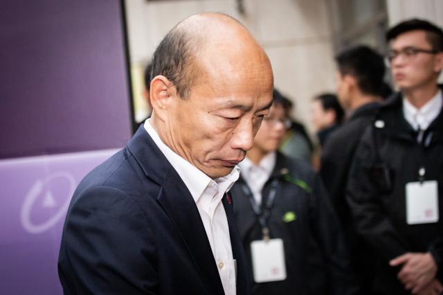 高雄市長韓國瑜二度向法院聲請停止罷免,遭到駁回。圖為韓國瑜資料照。(記者陳柏州/攝影)