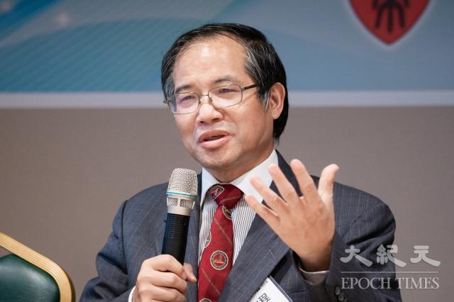 亞太和平研究基金會執行長林文程表示,520後中共會升高對臺武力恫嚇,「但不至於失控」,如臺海發生衝突,評估「美介入機率9成以上」。(記者陳柏州/攝影)