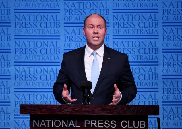 澳洲財政部長佛萊登柏格5日宣布,將加強有關外國投資的規定,對最新外國投資案展開嚴格審查。(Tracey Nearmy/Getty Images)