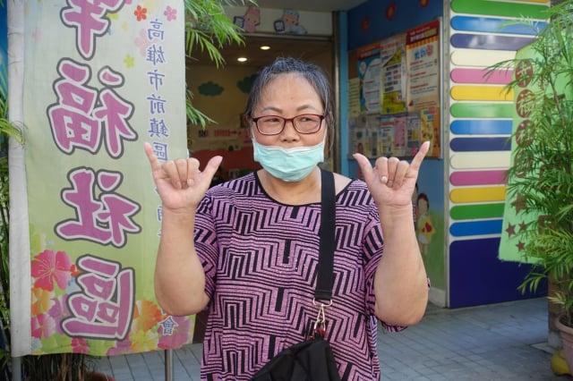 葉秀麗自述罷韓理由,「韓國瑜說話不算話,當上市長才三個月,就說要去選總統。」(記者李晴玳/攝影)
