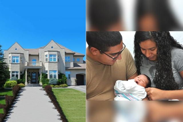 3個月大時被養父母收養的賈維,如今回報父母千萬豪宅。(示意圖)(Air Force Medical Service/ Pxfuel)