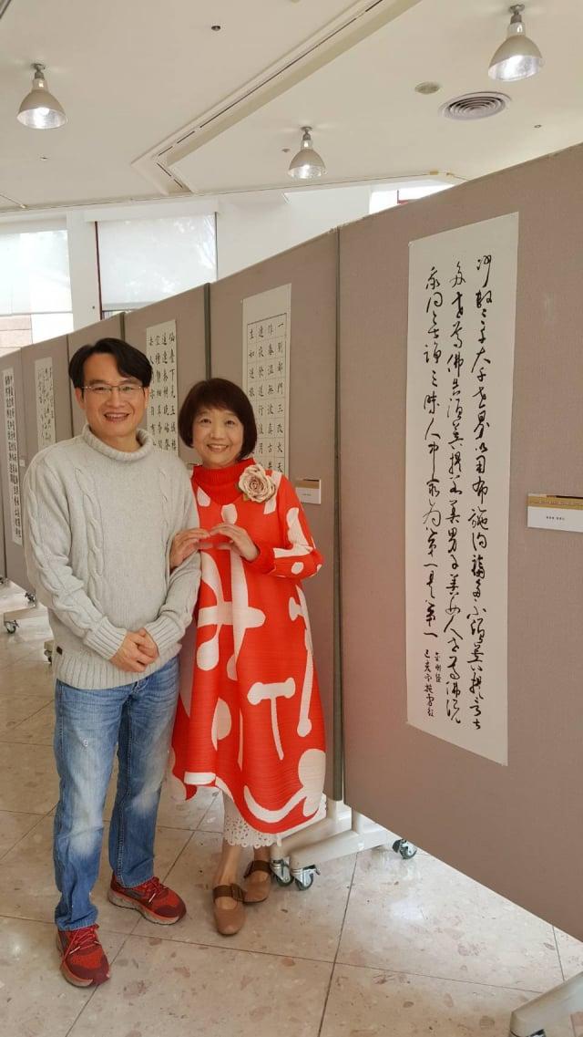 青山不動產執行長吳清杉是施雪紅最愛的家人,一路陪伴、鼓勵她做自己喜歡的事情