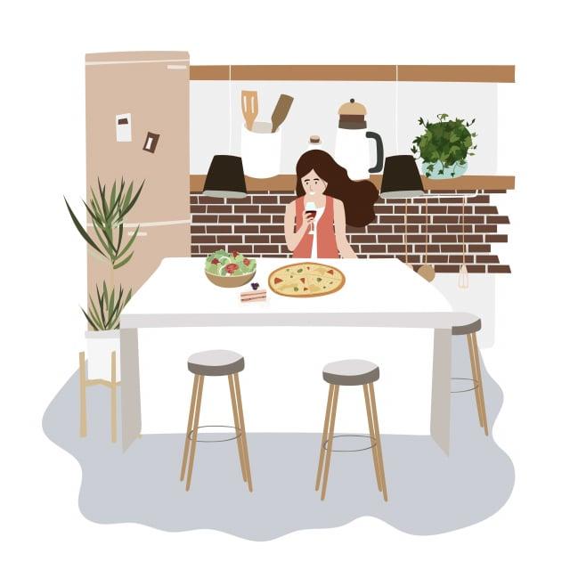 獨處帶給個人一個沈靜反思的時機。妥善安排獨處的時間,並不孤單。(123RF)