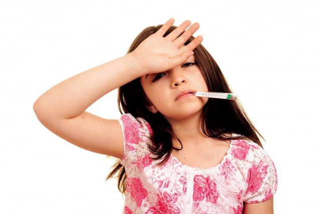何種原因引起發燒,在此提出 7個常見引起發燒的原因,並說明出現的症狀與適當的處理方式。(Fotolia)