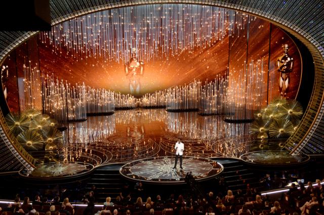 2021年奧斯卡延期至4月25日。圖為往年典禮會場。(Getty Images)