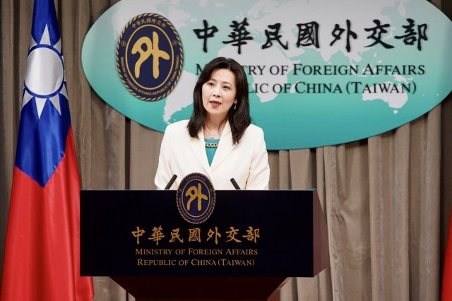 外交部發言人歐江安表示,我方得知宏都拉斯總統伉儷感染武漢肺炎,已第一時間表達關懷。(外交部資料照提供)