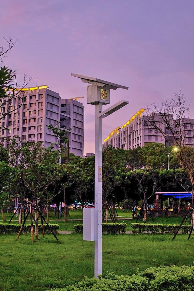 太陽能照明設備替公園帶來光明