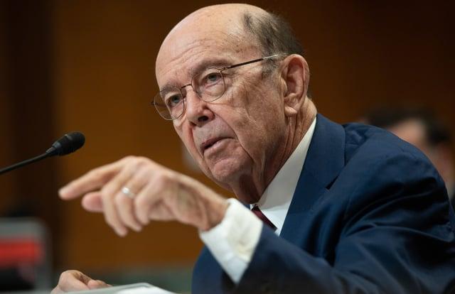 美國商務部長羅斯(Wilbur Ross)日前表示,華為的最新禁令沒有漏洞,美國政府將積極執法。圖為資料照。(SAUL LOEB/AFP)