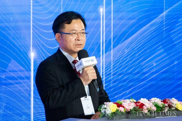 國家通訊傳播委員會(NCC)主委陳耀祥30日表示,5G頻譜拍賣完後,到今天為止4個多月完成開台,已經創下史上最快行政效率。(記者陳柏州/攝影)