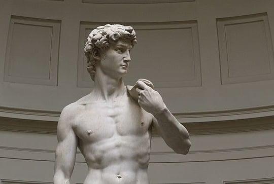 大衛雕像。(Jörg Bittner Unna/維基百科提供)