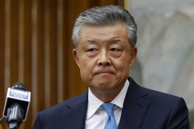 英國外交部7月1日召見中共駐英國大使劉曉明(圖),這是自1984年以來,英國外交部第二次召見中共大使。(AFP)