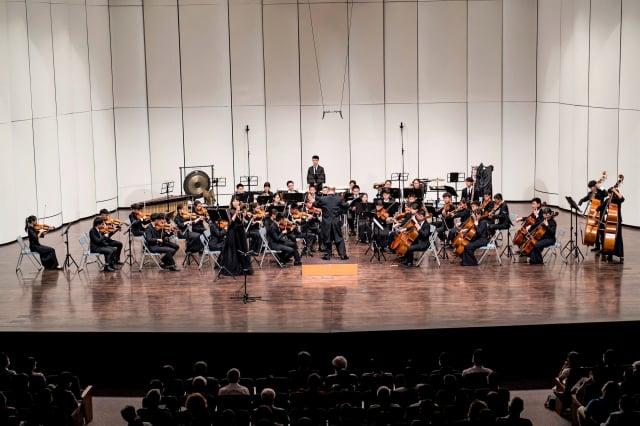 2020年7月1日,蔦松藝術高中十周年感恩音樂會,在高雄文化中心至德堂溫馨登場。(記者鄭順利/攝影)