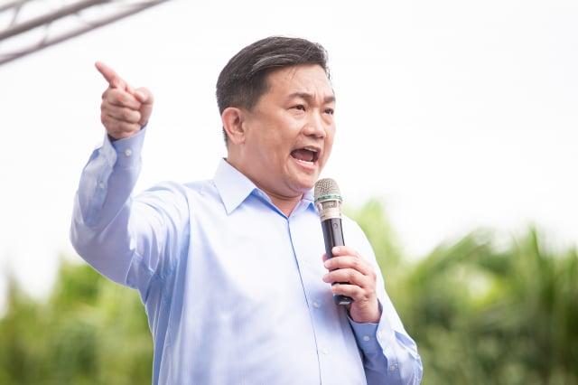 民進黨立委王定宇。(記者陳柏州/攝影)
