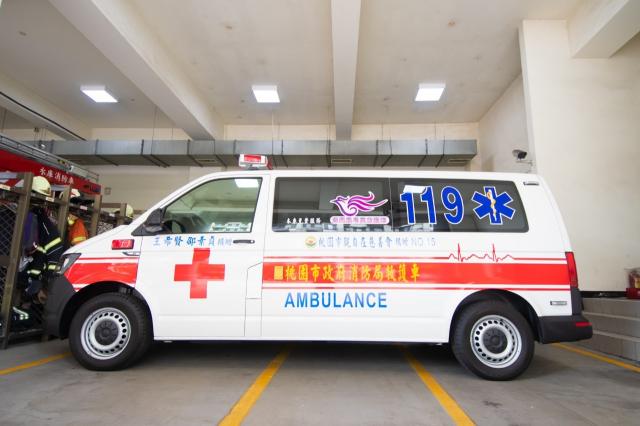 觀自在慈善會捐贈價值258萬的救護車1輛。
