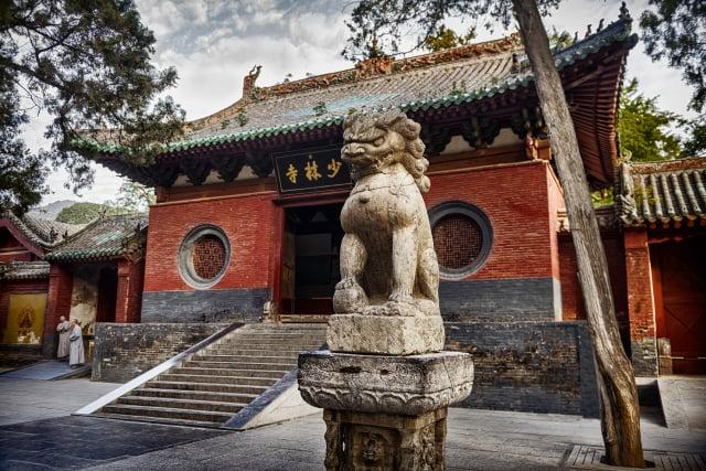 中共統治下的中國寺廟已經成為商業場所。圖為中國河南嵩山少林寺。(大紀元資料室)