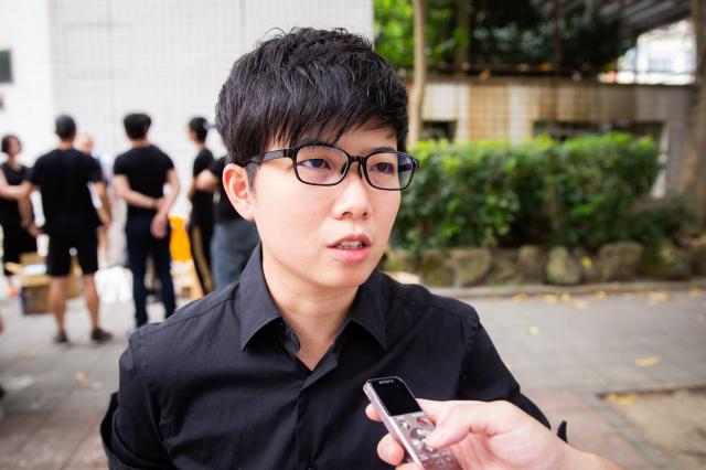 臺北市議員苗博雅說,政府應提供在港工作的臺人保護。資料照。(記者陳柏州/攝影)