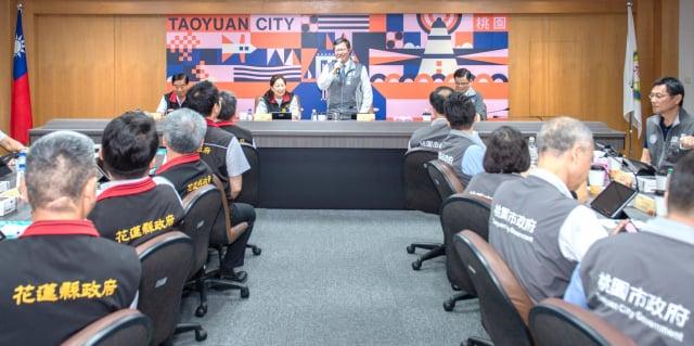 桃園市長鄭文燦期盼未來兩座城市交流更加密切。