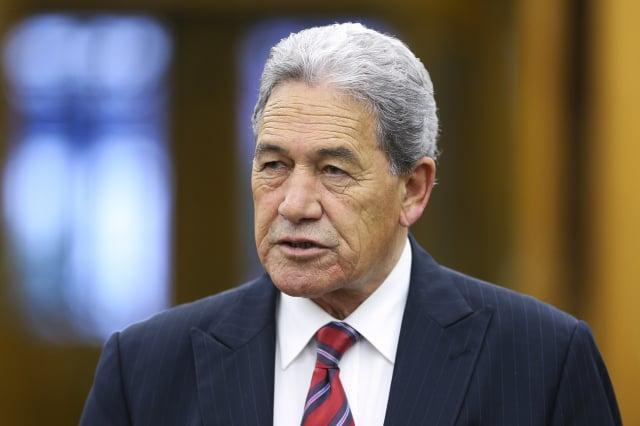 紐西蘭副總理、外交部長皮特斯(Winston Peters)。(Hagen Hopkins/Getty Images)