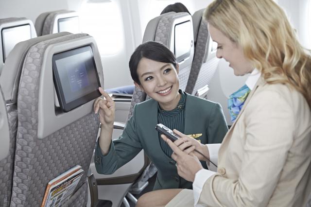 長榮航空今年獲評選為2020全球最佳國際線航空公司第4名。。(長榮航空提供)