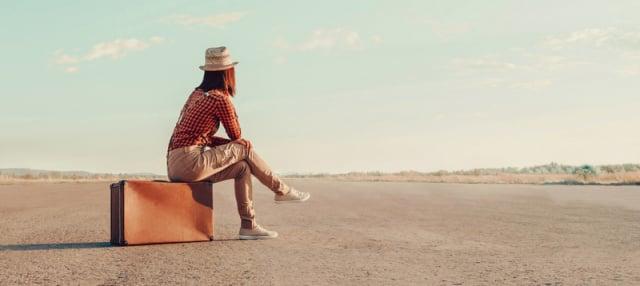 展開一趟新的旅程,可能讓迷茫的心靈找到「生存的意義」。(Fotolia)