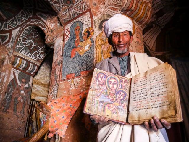 教堂內的壁畫仍保存良好。(Shutterstock)