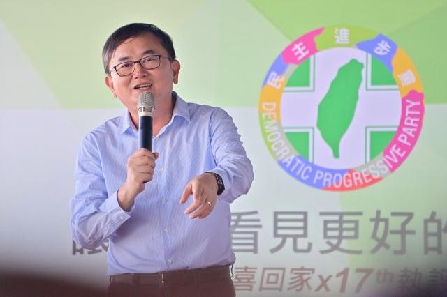 民進黨台東縣黨部主委劉櫂豪。