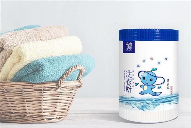 魚樂環保超濃縮洗衣粉不含有害化學物質,友善環境配方卻有超強洗淨力。(紀元國際提供)