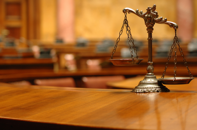 法庭示意圖。(Fotolia)