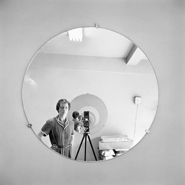 Self-Portrait, New York, NY, May 5th, 1955。(異角藝術提供)