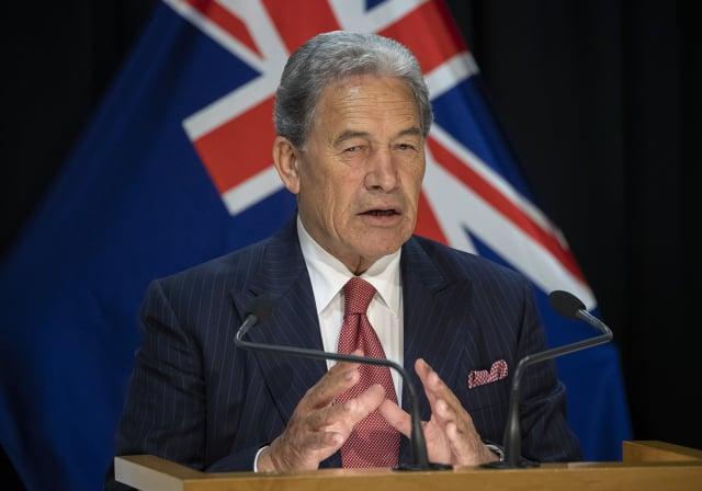 紐西蘭外交部長皮特斯(Winston Peters)表示,紐西蘭決定中止與香港間的引渡協議。圖為資料照。(Mark Mitchell - Pool/Getty Images)